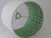 Handmade Scandi Stem Vine Leaves Fabric Lampshade Lightshade Choice of Colours