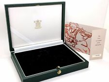 2000 United Kingdom 4 Coin Gold Proof Collection Sovereign Empty Green Box COA