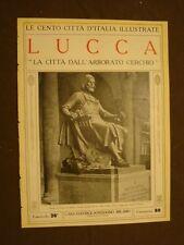 Lucca, La città dall'Arborato cerchio - Le Cento Città d'Italia illustrate
