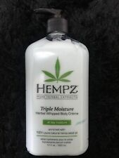 Triple Moisture Herbal Whipped Body Creme 500ml