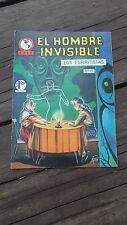1965 MEXICAN COMIC EL HOMBRE INVISIBLE # 27 (INVISIBLE MAN ADVENTURE/MONSTER)