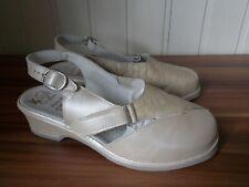 Chaussures sandales petit talon en cuir beige FLORETT K plus 37