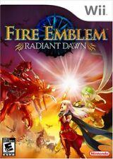 Fire Emblem: Radiant Dawn [Nintendo Wii, NTSC, Strategy Turn-based RPG] NEW