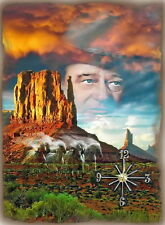 John Wayne (The Ghost) Wall Clock  It would make a great  Gift