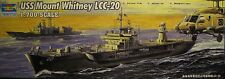 1/700 USS Mount Whitney LCC-20 (2004) Model Kit by Trumpeter