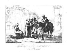 ITALIEN - ROM - LA ZINGARA CHE INDOVINA IN ROMA - 1840