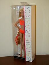Barbie Basics 2012 Swimsuit Collection 003 Model #7 NRFB Black Label