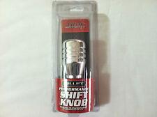 """Screw/On Billet Aluminum Polished Shift Knob 5/16""""-9/16"""" for Manual Transmission"""