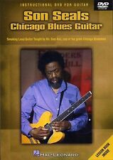 Son Seals Chicago Blues Guitar Learn to Play Jazz Lesson Tutor Music DVD