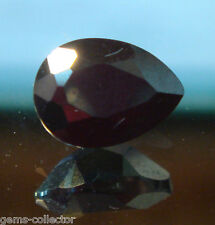 *rare Aegyrine taille poire 1.40 ct 6.96 x 5.09 x 3.57 mm  *