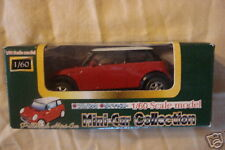 BMW Mini Cooper 1/60 Scale PullBack Japan Package red