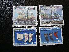 GROENLAND (danemark) - timbre - yt n° 306 a 309 nsg (A3) stamp greenland