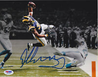 Todd Gurley Signed 8x10 St. Louis Rams Photo - Leap TD Stylized PSA/DNA COA