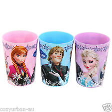 Disney Frozen Party Water Drinks Cup Cups 6oz 3pc Set Elsa Anna Kristoff Olaf