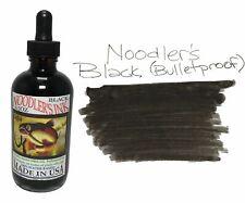 Noodler's Fountain Pen Ink - 4.5oz Bottle - 19801 - Bulletproof Black