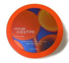 Bath and Body Works Orange Sapphire Butter Moisturizer 7 oz. 200 g HTF