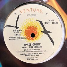 "Disco Funk Boogie 12"" KING ERRISSON Space Queen NM Venture Records Electro"