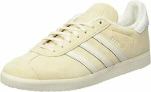 ADIDAS GAZELLE TRAINERS SUEDE ECRU TINT WHITE EE5501 SIZE 6.5 EUR 40 RRP £74.95