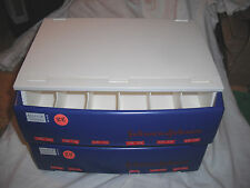 Vintage 1980's Johnson&Johnson Contact Lense Storage Case for Opthamologist Ofc