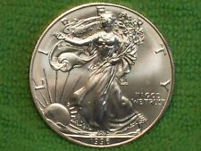 BU 1996 American Eagle Silver Dollar!! Key Date!! Combined Shipping! (Lot F)