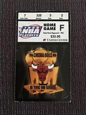 1996 Michael Jordan Not NBA Finals TICKET playoff ticket Chicago Bulls