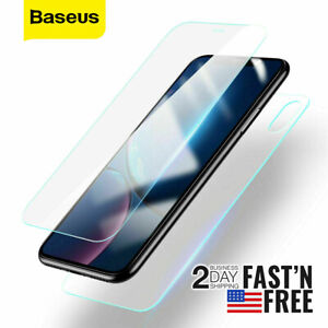 Baseus Front and Back Tempered Glass Screen Protector Set For iPhone XS Max
