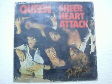 QUEEN SHEER HEART ATTACK RARE INDIA unique/differnet back sleeve/cover LP VG+