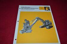 Fleco Feller Buncher For Caterpillar 225 Excavator Dealers Brochure BWPA
