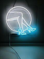 "New Live Nudes Beauty Legs Artwork Wall Decor Acrylic Neon Light Sign 19""x17"""