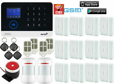 T49 WIFI APP GSM Wireless Home/Office Security Alarm Burglar System+RFID Access