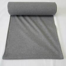 Stoff Bündchenstoff Schlauchware Strickbündchen grau meliert Baumwolle Ökotex
