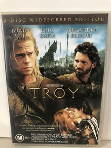 Troy (DVD, R4) Brad Pitt, Eric Bana, Orlando Bloom