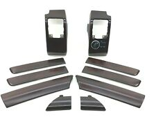 Range Rover Vogue L322 2006-2009 Dashboard Door Cards Interior Wood Trims Set