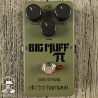 Electro-Harmonix EHX Nano Green Russian Big Muff Pi Distortion