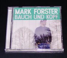 MARK FORSTER TRIPA Y KOPF CD ENVÍO RÁPIDO NUEVO Y EMB. ORIG.