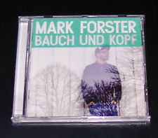 MARK FORSTER VENTRE ET KOPF CD EXPÉDITION RAPIDE NEUF DANS L'EMBALLAGE D'ORIGINE