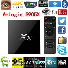 X96 Android 6.0 Marshmallow Quad-Core 2GHz 2GB 16GB KODI TV BOX 4K 60fps IPTV
