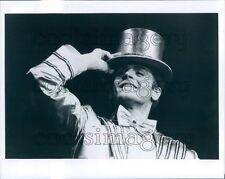 Dancer Mikhail Baryshnikov Dons Top Hat A Chorus Line Broadway Press Photo