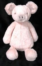 """Jellycat Pig Pink Gray Bashful Plush Small 9"""""""