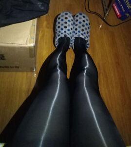 Women's Ladies Super Shiny Elastic Glossy Oil Sheer Stockings Tights Pantyhose