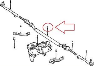 BMW 5 E39 540i Center Tie Rod 32211096060 1096060 1997 NEW GENUINE