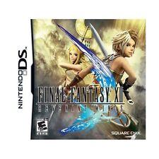 Final Fantasy XII Revenant Wings DS DS Lite DSi DSiXL 3DS * Rare