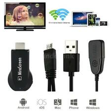 Miracast TV Stick WiFi Display Receiver FHD 1080P HDM for Smart Phones Tablet PC