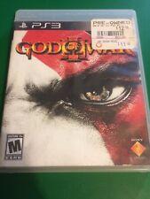 God of War III (Sony PlayStation 3, 2010) PS3 with Manual