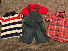 Boys 3t Dress Shirts And Overalls