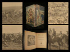 1902 1ed Pawnee Bill Indians Wild West Plains Geronimo Cowboy Illustrated picture