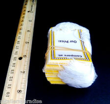 Lot Of 100 Our Price (Wholesale Pack!) Retail Store Sale Tags W/Strings Strung