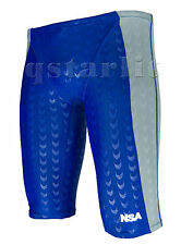 Boy's Male Practice iRacing Competition Racer Swim Jammer Swimwear Size 22 / XXS