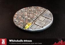 Whitehalls 80 mm Ciottolo ROTONDO BASE IN RESINA STILE