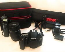 *GREAT* Canon EOS 60D 18.0 MP Digital SLR Camera - Black - EXTRAS! + TRIPOD&case
